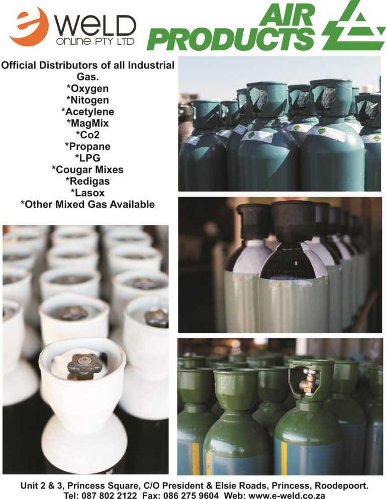 E-Weld Online Air Products - Distributors of all Industrial Gas