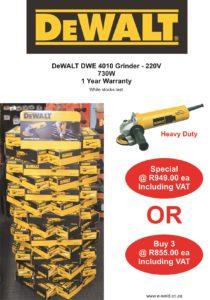 DeWALT DWE4010 Bulk Special