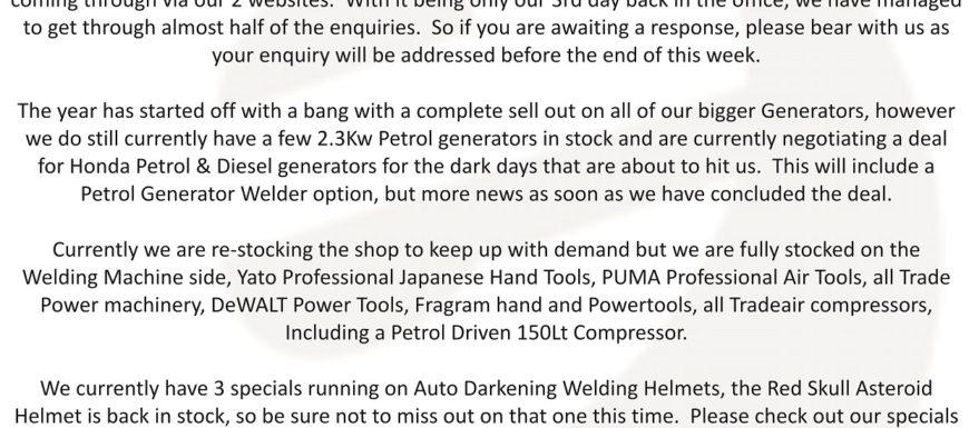 E-Welding Newsletter Jan 2015 P1
