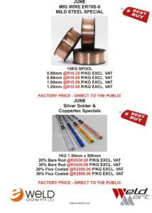 June Mig Wire & Silver Solder special
