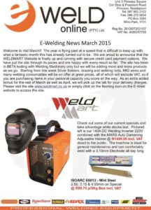 Newsletter March 2015 P1