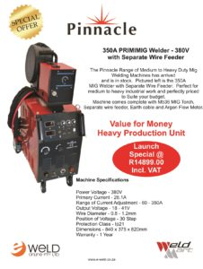 Pinnacle 350A MIG