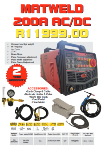 Matweld 200A AC-DC