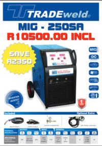 Tradeweld MIG 250