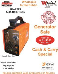Smarter 140A Cash & Carry