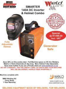 Smarter 140A & Helmet Special