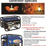 TradePower Generator Specials