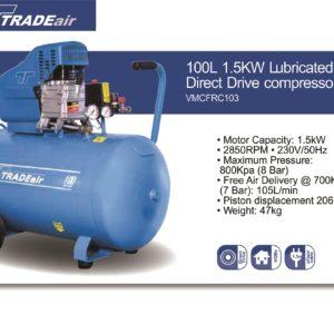 Tradeair Compressor E-Weld Site CODE - VMCFRC103
