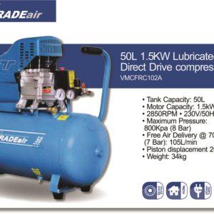 Tradeair Compressor E-Weld Site VMFCRC102A