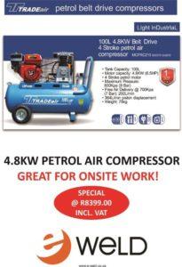 Tradeair-Petrol-Compressor
