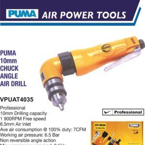VPUAT4035 10MM CHUCK ANGLE AIR DRILL