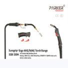 SGB 150A SUREGRIP 4M Professional MIG Welding Torch