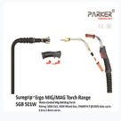 SGB 501W SUREGRIP 4M Professional MIG Welding Torch